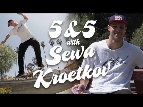 Sewa Kroetkov: 5&5 for Ricta Wheels