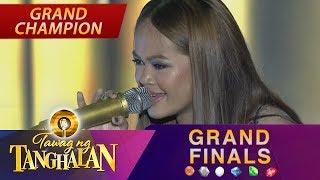 Tawag ng Tanghalan: Janine Berdin   Bamboo Medley (Final 3 Performance)