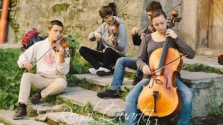 "Royal Quartet - Medley ""Classical music & Thunderstruck"" (AC/DC violin cover) #FolkRockVideo"