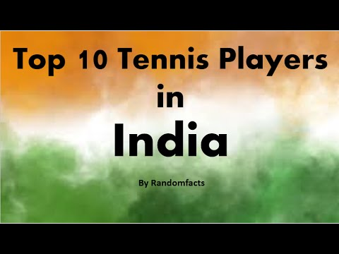 Top 10 Tennis Players in India