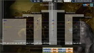 AoE 22  Random VanLove, CamQuyt vs Hồng Anh, He He Ngày 29-11-2017