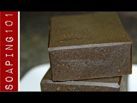 How to Make Pine Tar Soap {for eczema + psoriasis) S2W5