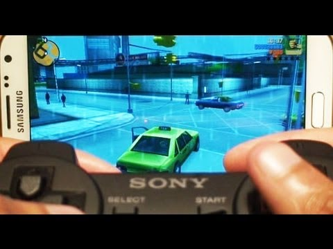How to Pair Playstation 3 Controller (PS3) to Samsung Galaxy Note 2 II GT-N7100. GT-N7105