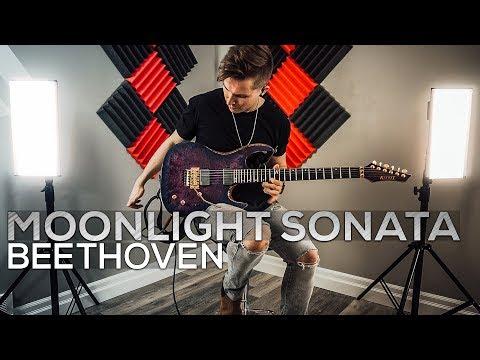 Ludwig Van Beethoven - Moonlight Sonata (3rd Movement) - Cole Rolland (Guitar Cover)