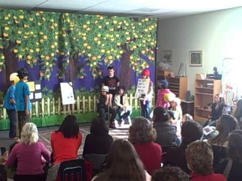 "Odyssey Montessori - Drama performance - ""Save our neighborhood"""