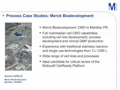 Webinar: Scalability and Robustness of the Mobius® CellReady Bioreactor Platform