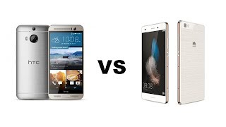 HTC One M9 vs Huawei P8