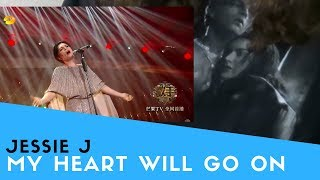 "Voice Teacher Reacts to Jessie J - My Heart Will Go On ""Singer 2018"""