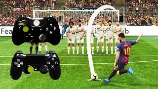 PES 2019 FREE KICK TUTORIAL | Xbox & Playstation | 4K Ultra HD