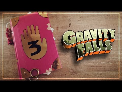 Creating My Own Gravity Falls Journal!