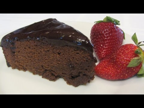 Chocolate Ganache Cake -- Lynn's Recipes Valentine's Day