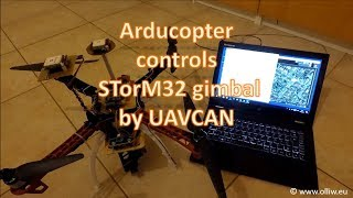 Arducopter controls STorM32 gimbal by UAVCAN