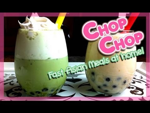 Boba : Bubble Tea(Boba Tea) Recipe with Mangosteen and Green Tea: Drink Recipe : CHOPCHOP