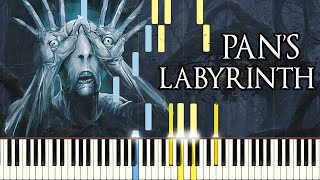 Piano Tutorial Pans Labyrinth Lullaby Synthesia Easy Piano Learning Movie Soundtrack