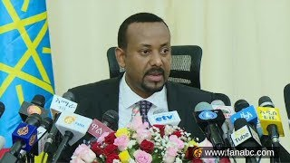 PM Dr. Abyi Ahmed press
