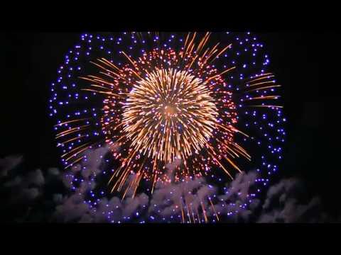 vuurwerk show in China
