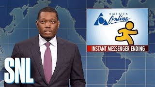 Weekend Update on AIM Shutting Down - SNL