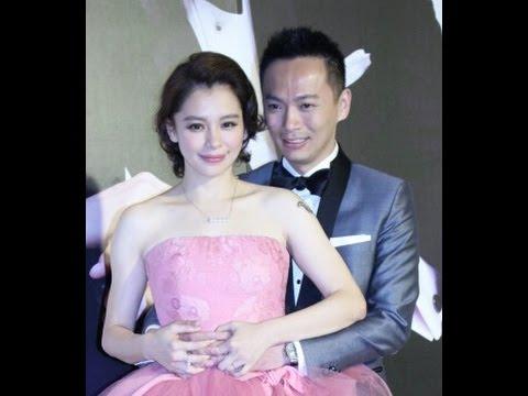 徐若瑄vivian Hsu顶台风穿粉色婚纱补办喜宴 小两口甜蜜亮相 video