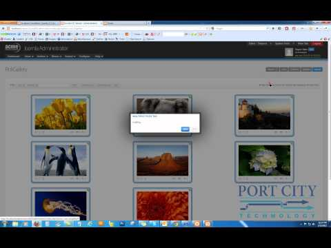 Setting up Rok Gallery on Joomla 2.5