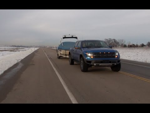 2014 Ford F-150 SVT Raptor 0-60 MPH Towing Review (Episode 8)