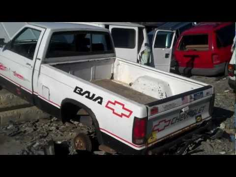 VERY RARE!! Chevy S10 BAJA in junkyard