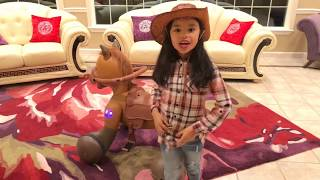 Kid Trax 12v Rideamals Scout Ride on Toy Pony Review