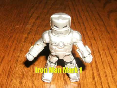Iron Man Minimate Collection