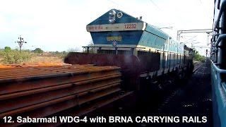 23 OVERTAKES BY TAMIL NADU EXPRESS BETWEEN BHOPAL - BALHARSHAH