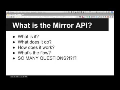 A High-level Look At The Mirror Api video