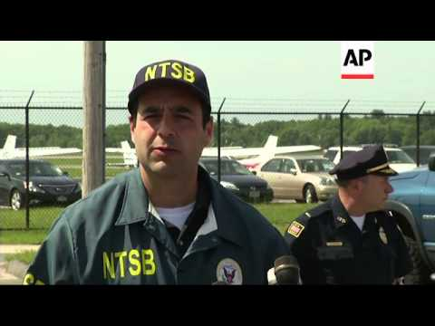 The NTSB is investigating the fiery plane crash in Massachusetts that claim the life of 7 including