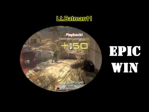 Best Throwing Knife Kill Ever - Supply Crate drop Kill - Modern Warfare 2 - :)