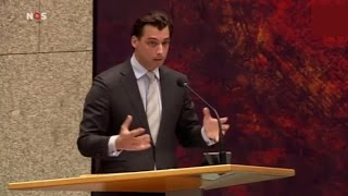 Thierry Baudet vs Tunahan Kuzu in Tweede Kamer