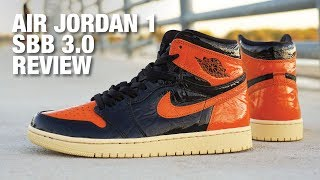 AIR JORDAN 1 Shattered Backboard 3.0 REVIEW & On Feet