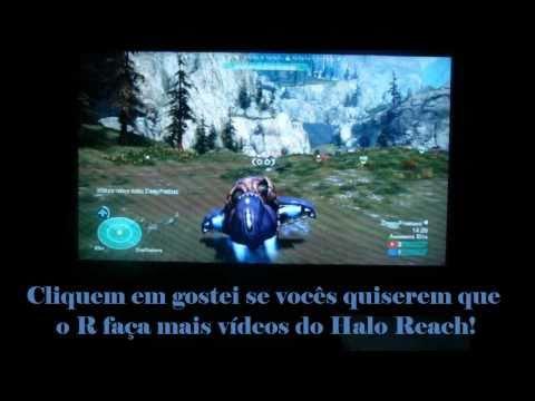 Maluco jogando Halo Reach