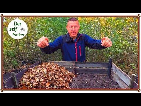 Kompost richtig anlegen/ Kompost für den Garten anlegen/ Kompost selber machen