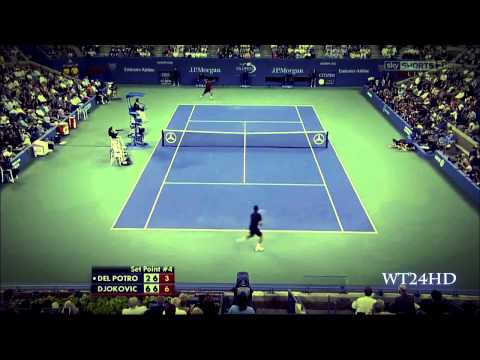 Novak Djokovic - Gladiator on Court HD