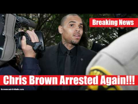 Chris Brown Arrested And Jailed For Violating Rehab