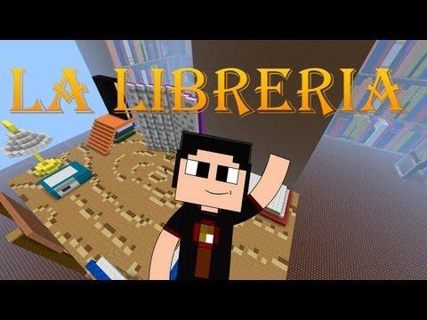 Minecraft: Mapa La Libreria con Town y Bers!!