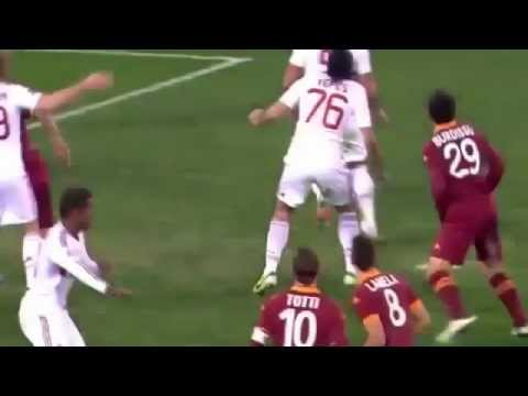 Ac Milan 2-4 Roma All Goals and Highlights 22/12/2012