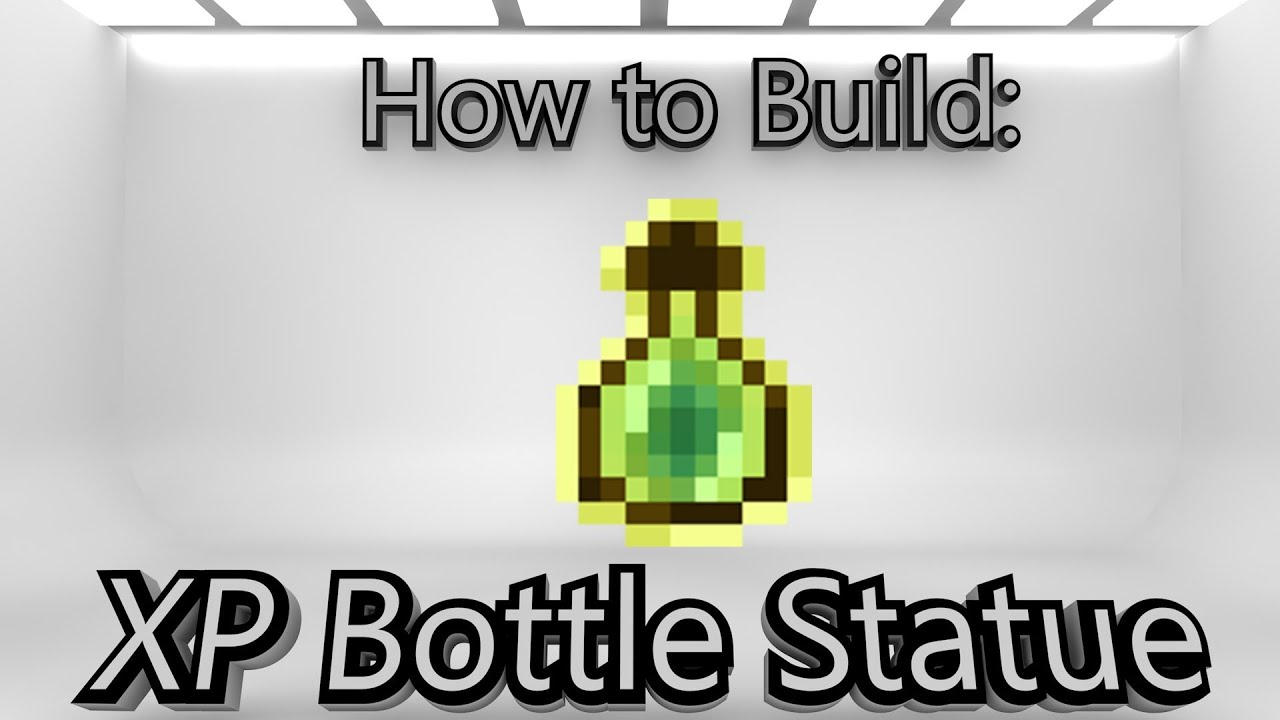 how to make glass bottle minecraft pe