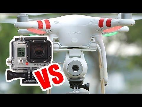 DJI Phantom 2 Vision Camera VS GOPRO 3