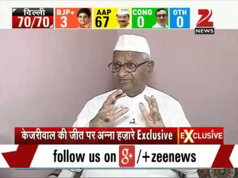 Delhi poll results: Exclusive interview with Anna Hazare