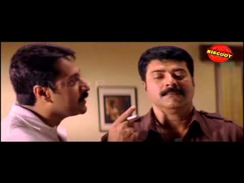 Black Malayalam Movie Diagloue Scene mammotty and rahman
