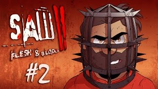 Saw II | Let's Play Ep. 2: Reverse Bear Trap | Super Beard Bros.