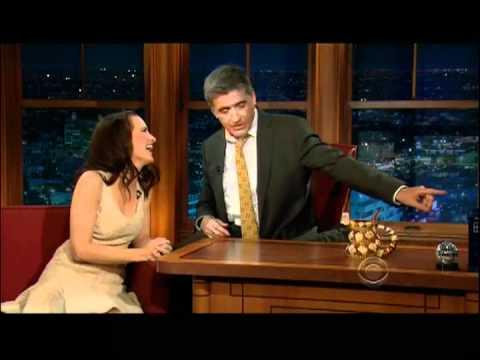 Craig Ferguson 3/9/12D Late Late Show Kristin Davis