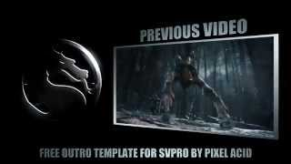 Mortal Kombat X Gaming Outro - FREE DOWNLOAD [Sony Vegas Templates]