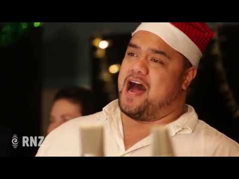 Sol3 Mio sing Mele Kalikimaka / Merry Christmas at RNZ