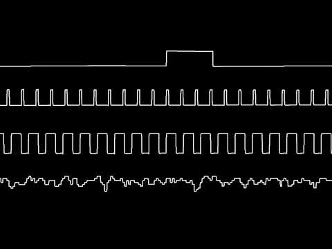 C64 Wally Beben's Tetris music oscilloscope view