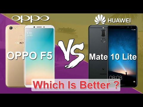 Oppo F5 vs Huawei Mate 10 Lite [ honor 9i ] Full Comparison, Specs, Which One Is Better?