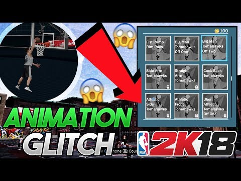NBA 2K18 GAME BREAKING ANIMATION GLITCH TUTORIAL!! Unlock Any Animation on Any Player!